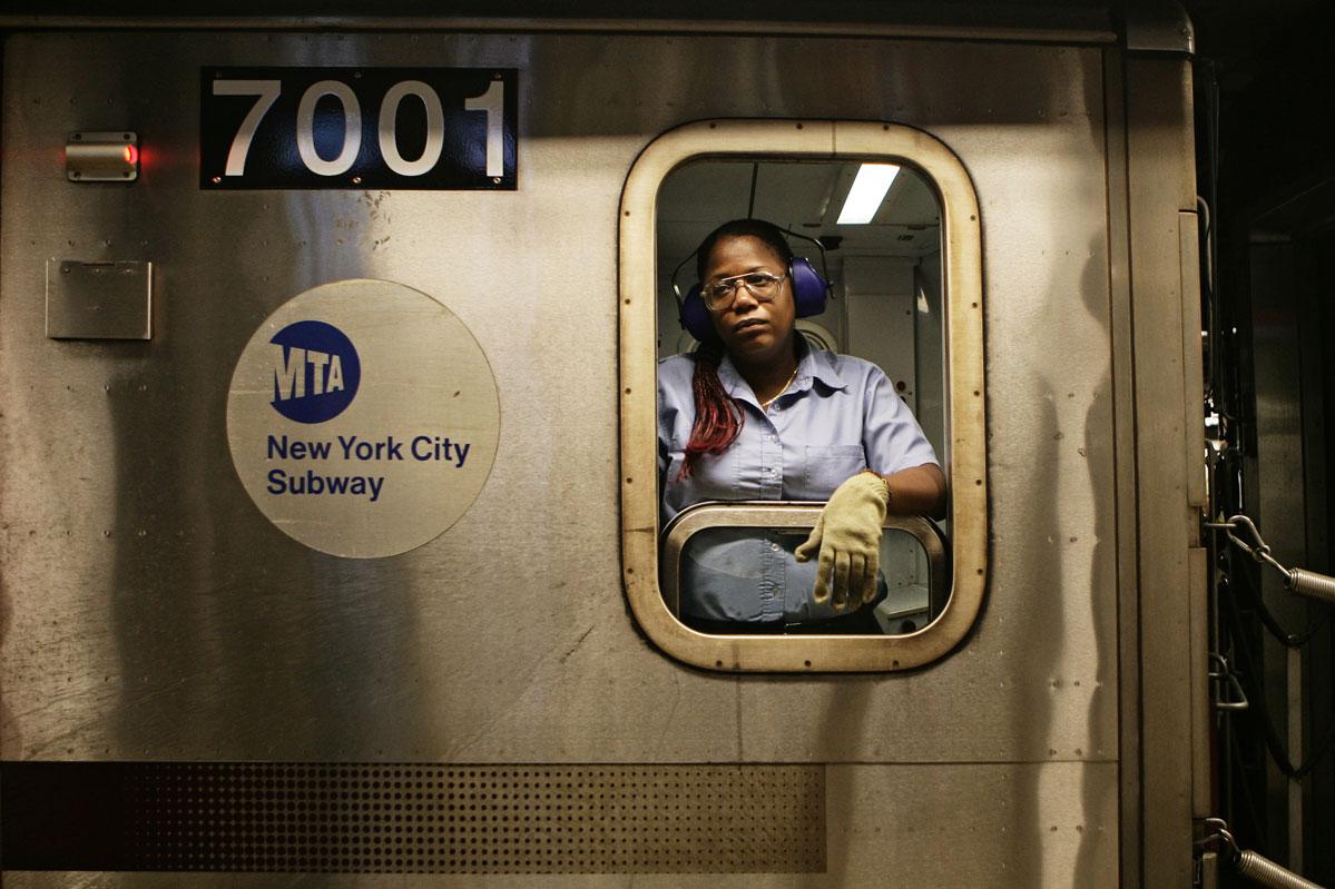New York Subway Conductors – Copyright Janus van den Eijnden (1)