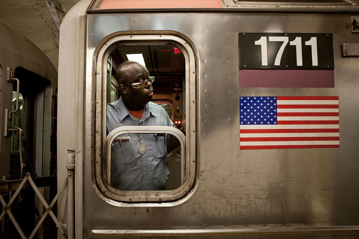 New York Subway Conductors – Copyright Janus van den Eijnden (2)
