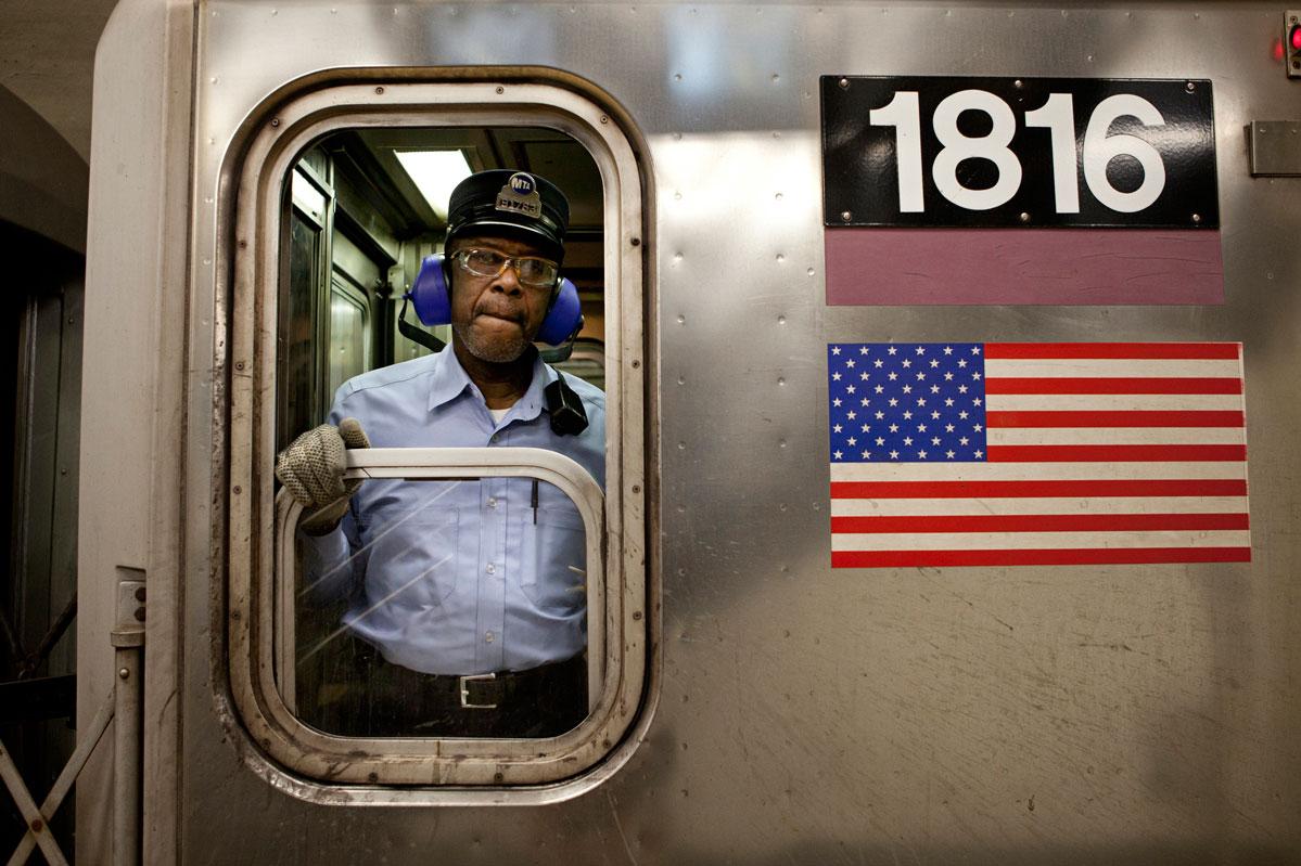 New York Subway Conductors – Copyright Janus van den Eijnden (3)