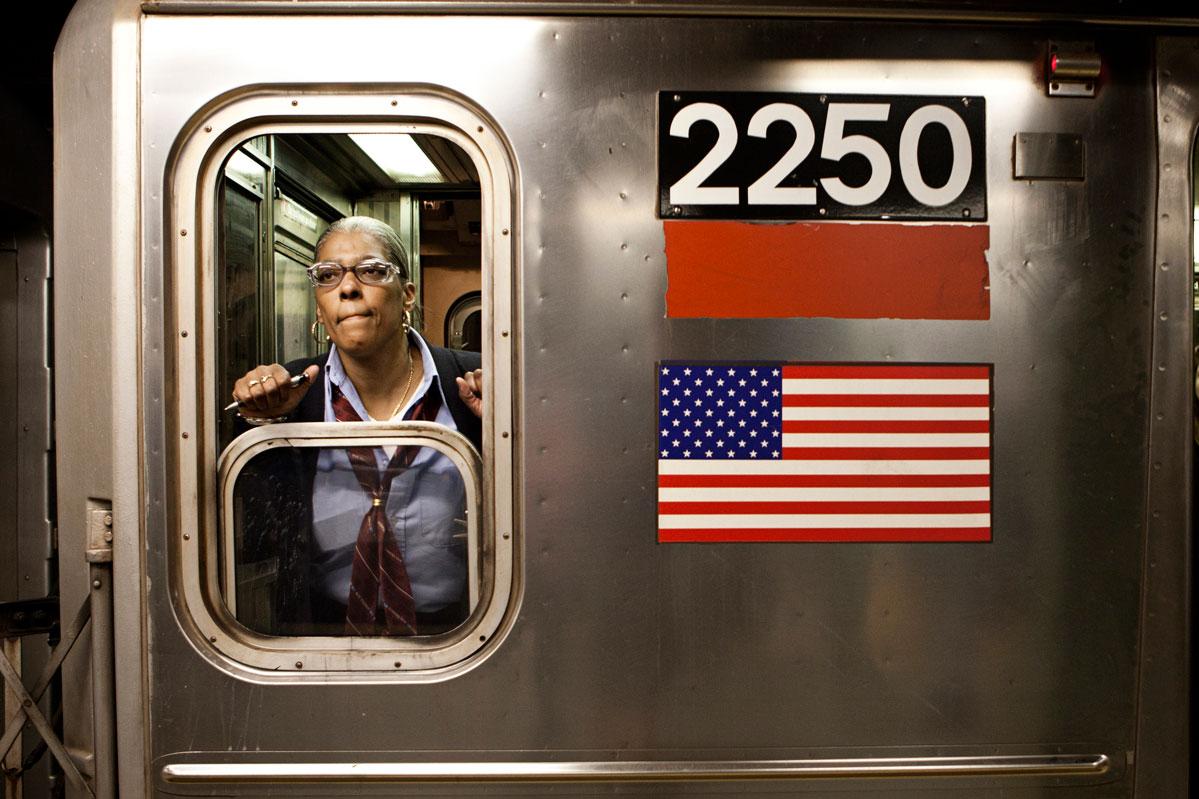 New York Subway Conductors – Copyright Janus van den Eijnden (4)